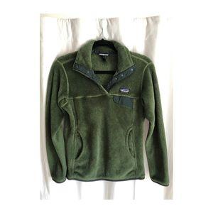 Women's Patagonia Green Fleece Jacket - Size S